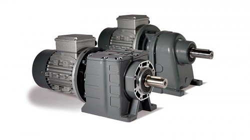 in-line helical gearboxes