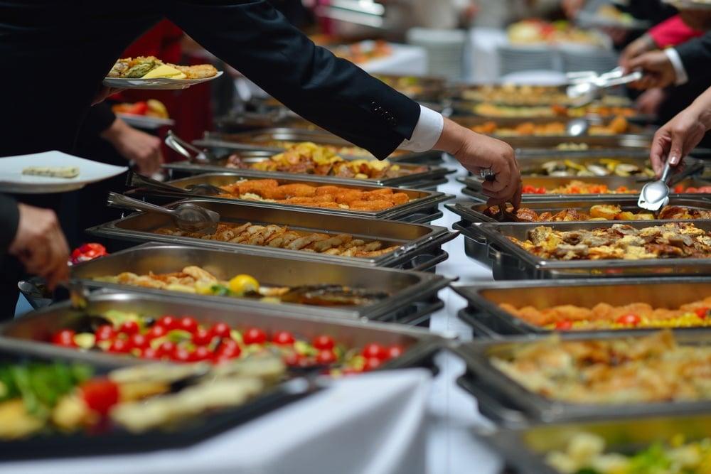 Catering buffet - industria alimentare e esigenze